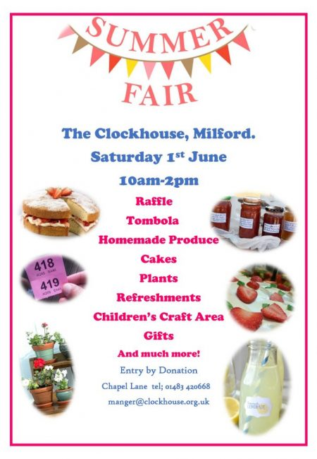 The Clockhouse Milford Summer Fair