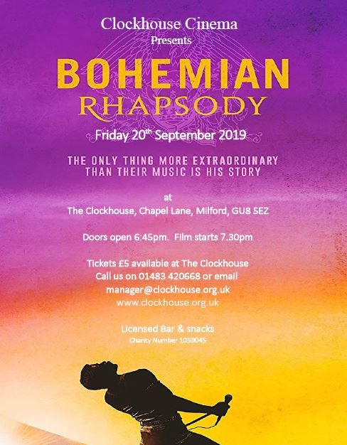 Cinema - Bohemian Rhapsody