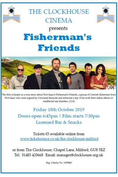 Fisherman's Friends Oct 2019