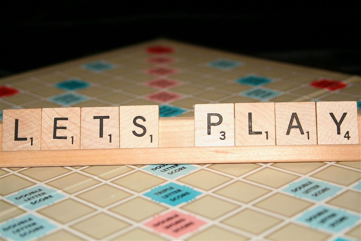let's play scrabble